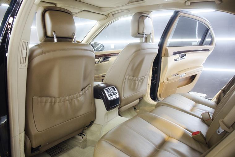 Mercedes S500 Interior Reconditioned