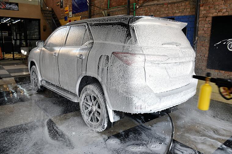Jet Foam Wash powered by Karcher